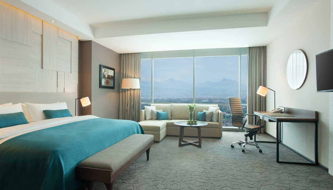 Junior Suite Crowne Plaza Bandung
